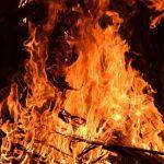 Пожар на улице Карла Маркса в Холм-Жирковском: пострадала местная жительница