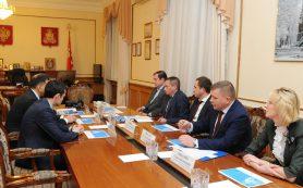 Губернатор встретился с руководством «МРСК Центра»