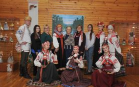Ремесленники из Беларуси показывают работы на выставке в Смоленске