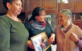 В Смоленской области учительница отметила 90-летие