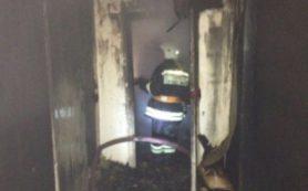 Ночью в Вязьме сгорела квартира на улице Полины Осименк