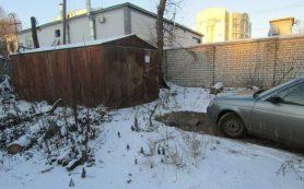 Пять гаражей демонтируют с улицы Лавочкина в Смоленске