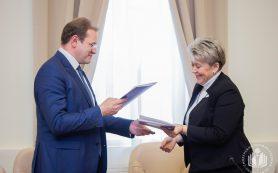 Смоленский госуниверситет заключил соглашение о сотрудничестве с Горловским институтом иностранных языков