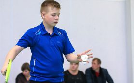 Вязьмич выиграл «бронзу» на соревнованиях по бадминтону