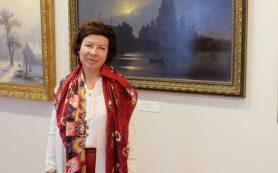 В Смоленске побывала праправнучка художника Архипа Куинджи