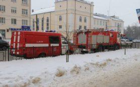 В Смоленске на улице Ломоносова произошло короткое замыкание
