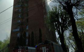 Пожар произошел в общежитии медакадемии в Смоленске