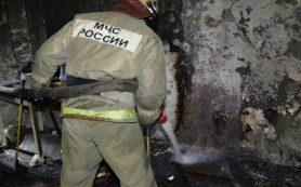 В Ярцеве дотла сгорел дом