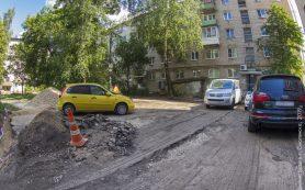 В Смоленске благоустраивают дворовые территории