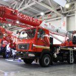 В Москве прошла выставка спецтехники СТТ