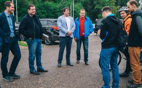 Губернатор встретился с представителями велосообщества региона