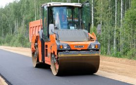 Рабочие начали ремонтировать Старую Смоленскую дорогу