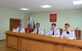 Андрей Борисов поздравил экипаж АПРК «Смоленск» с Днем Военно-морского флота