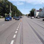 В Смоленске произошло ДТП на рельсах в Заднепровье