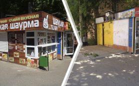 В Смоленске продолжается демонтаж незаконных объектов торговли