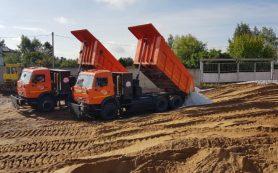 Смоленские коммунальщики приступили к заготовке пескосоляной смеси