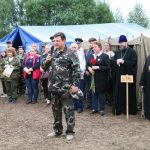 В Глинковском районе открылась ХХI учебно-тренировочная Вахта Памяти