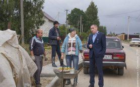 Андрей Борисов проинспектировал ремонт дорог в Смоленске