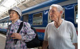 Смоленские пенсионеры смогут ездить в купе поездов за полцены