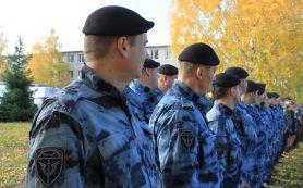 38 сотрудников ОМОН Управления Росгвардии по Смоленской области награждены Орденом Мужества