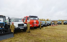 Алексей Островский принял участие в открытии региональных соревнований Лесопожарной службы Смоленской области