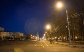 Уличное освещение начали менять в Смоленске