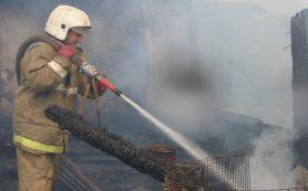 В Смоленской области в пожаре погибли двое людей