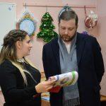 Алексей Островский ознакомился с работой регионального ресурсного центра Российского движения школьников