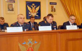 Личному составу УФСИН России по Смоленской области представили нового начальника