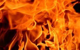 Гараж загорелся на улице Нижне-Лермонтовской в Смоленске