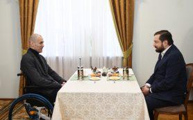 Губернатор встретился с Иваном Гуторовым