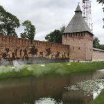 Смоленская крепостная стена получит подсветку