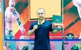 Смолянин стал абсолютным чемпионом России по жиму штанги лежа