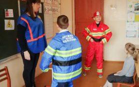 Руднянские школьники приняли участие в противопожарной игровой программе