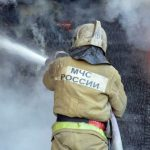 В пожаре в смоленском райцентре погибла пожилая женщина