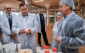 Молочный комбинат «Роса» возобновил работу в Смоленске