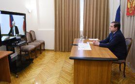 Алексей Островский принял участие в видеоселекторном совещании с президентом России