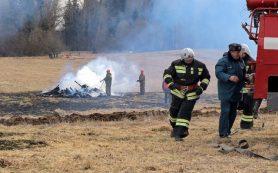 Спасатели зафиксировали снижение палов травы в Смоленской области