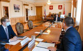 В администрации региона обсудили вопросы сельского хозяйства