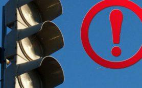 Сегодня ночью на развязке окружной дороги Смоленска не будет освещения