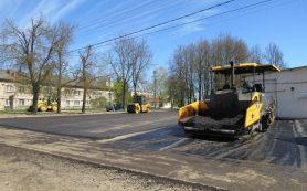 В Демидове приступили к ремонту центральных улиц города