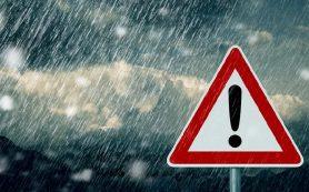В Смоленской области прогнозируют грозу и штормовой ветер