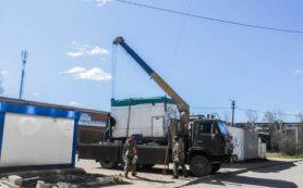 Два самовольно установленных объекта собираются снести в Смоленске