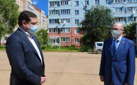 Губернатора посетил Десногорск
