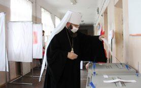 Митрополит Смоленский и Дорогобужский Исидор принял участие в общероссийском голосовании по поправкам в Конституцию