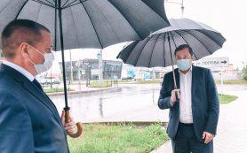 Рабочая поездка Губернатора Алексея Островского по Смоленску