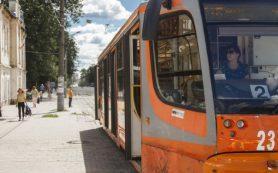 Движение трамваев № 2 по улице Рыленкова в Смоленске временно прекратили