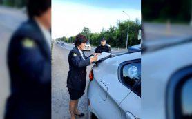 У смолянина арестовали автомобиль за многочисленные нарушения ПДД