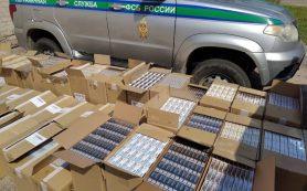 Улов на 20 миллионов. Смоленские пограничники задержали крупную партию контрабандных сигарет