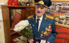 В Смоленске вручили награду легендарному ветерану
